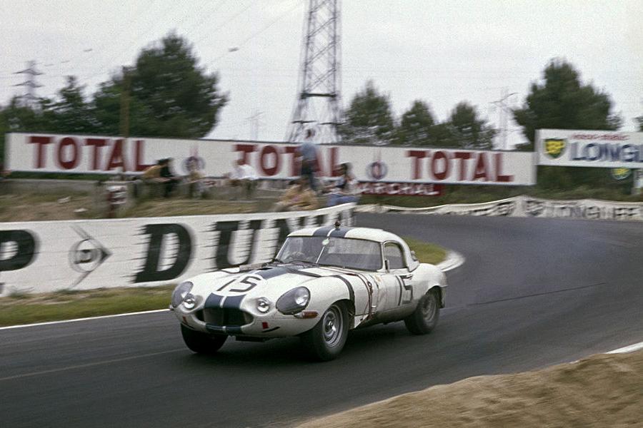 24 heures du Mans 1963 - Jaguar E lightweight #15 - Pilotes : Briggs Cunnigham / Bob Grossman - 9ème