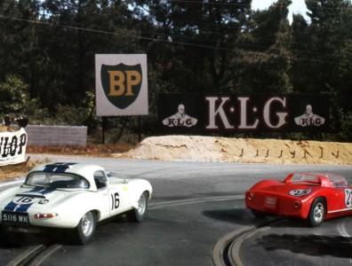 24 heures du Mans 1963 - Jaguar E lightweight #16 - Pilotes : Roy Salvadori / Paul Richards - Abandon
