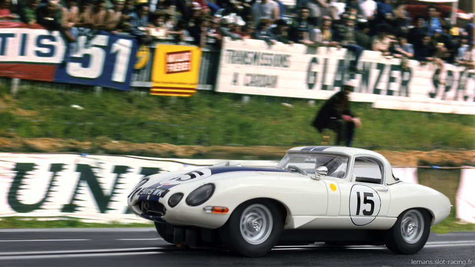 Jaguar E Lightweight #15 ‣1963
