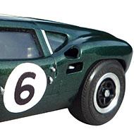 Lola Mk6 GT Monogram - Détails des roues