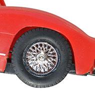 Ferrari 250P - MRRC 9905 - Détails des roues