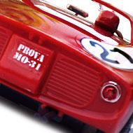 Ferrari 250P - MRRC 9905 - Détails de la face arrière