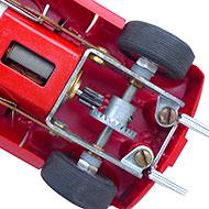 Ferrari 250P Monogram - Le châssis, le moteur et la transmission