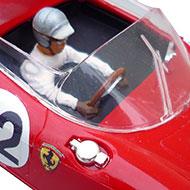 Ferrari 250P Monogram - Détails du cokpit