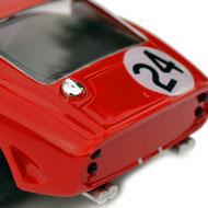 Ferrari 250 GTO - Pink-Kar CV037 - Détails de la face arrière