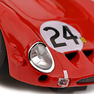 Ferrari 250 GTO - Pink-Kar CV037 - Détails de la décoration avant
