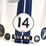 Jaguar Type E Lightweight - Revell 08358 - Détails du capot