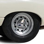 Jaguar Type E Lightweight - Revell 08358 - Détails des roues