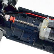 Ferrari 250 GTO - Scalextric C2970 - Le moteur et la transmission