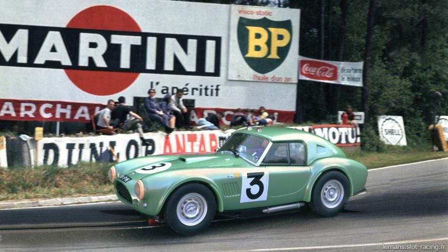 Ac Cobra Carrera 3 24 Heures Du Mans 1963
