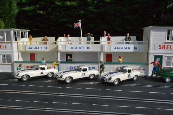 24 heures du Mans 1963 - L'équipe Jaguar de Briggs Cunnigham