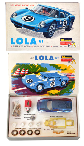 Kit Lola Mk6 GT Monogram