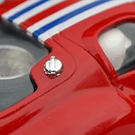 Maserati 151/2 MMK - MMK27 - Détail du bouchon de réservoir