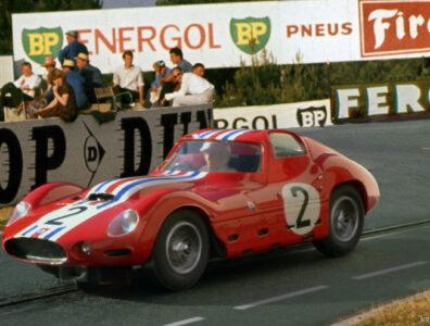 24 heures du Mans 1963 - Maserati 151/1 #2- Pilotes : André Simon / Lucky Casner- Abandon