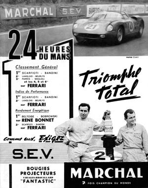 Victoire au Mans 1963