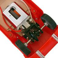 Ferrari 250 LM - Airfix-5140 - Le moteur et la transmission
