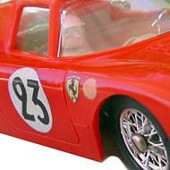 Ferrari 250 LM - Airfix-5140 - Détails de la décoration