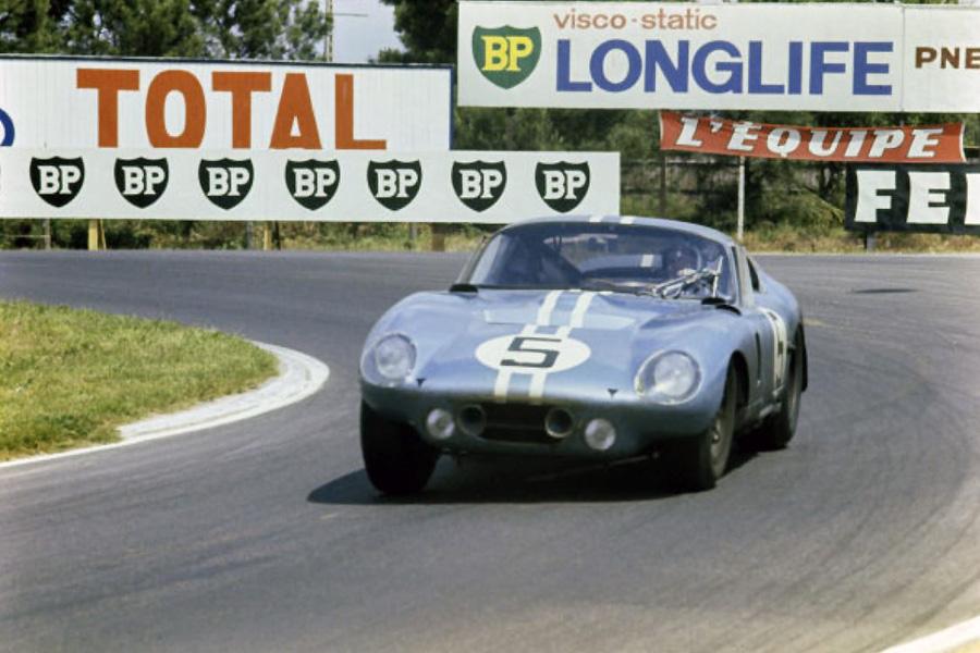 24 heures du Mans 1964 - Shelby Cobra Daytona #5 - Pilotes : Dan Gurney / Bob Bondurant - 4ème