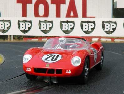 24 heures du Mans 1964 - Ferrari 275P #20 - Pilotes : Jean Guichet / Nino Vaccarella - 1er