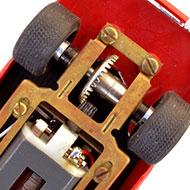 Ferrari 250 GTO 64 - Monogram SR3205 - Le moteur et la transmission