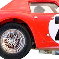 Ferrari 250 GTO 64 - Monogram SR3205 - Détail des roues