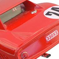Ferrari 250 GTO 64 - Monogram 85-4897 - Détails de la face arrière