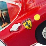 Ferrari 275P - MRRC 9905 - Détails de la décoration