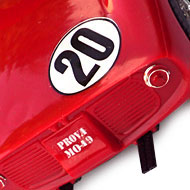 Ferrari 275P - MRRC 9905 - Détails de la face arrière