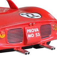 Ferrari 275P  Monogram 85-4896 - Détails de la face arrière