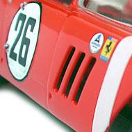 Ferrari 250 GTO 64 - Monogram 85-4897 - Détails de la décoration