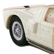 Ford GT40 Monogram - Détails des roues