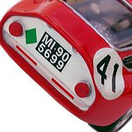Alfa-Roméo Tubolare Zagato Ocar - Détails de la face arrière