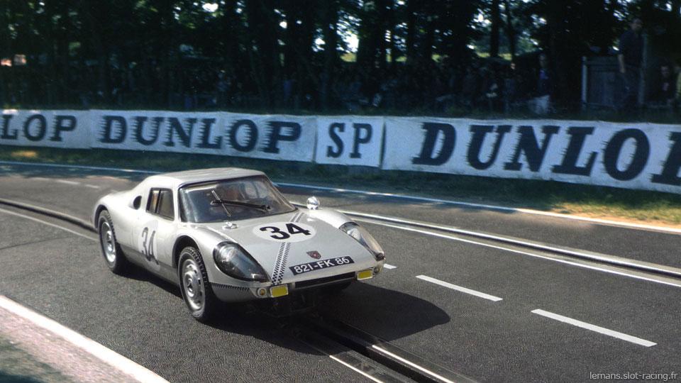 24 heures du Mans 1964 - Porsche 904 GTS #34 - Pilotes : Robert Buchet / Guy Ligier - 7ème