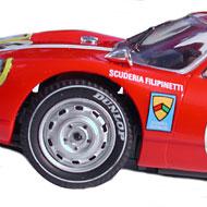 Porsche 904 GTS - Détails des roues avant