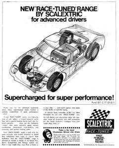 Publicité Scalextric Ford GT40