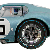 Cobra Daytona Revell - Détails des roues