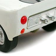 Ford GT40 Scalextric - Détails de la face arrière
