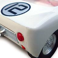 Ford GT40 Scalextric - Détails du capôt arrière