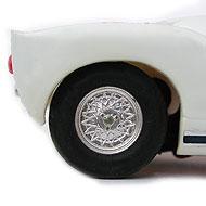 Ford GT40 Scalextric - Détails des roues
