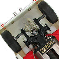 Ford GT40 Scalextric - Le moteur Johnson