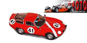 Alfa Roméo TZ1 n°41 PSK Le Mans 1964
