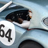AC Cobra Revell - Détails du poste de pilotage