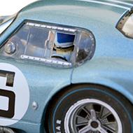 Cobra Daytona Revell - Détails du poste de pilotage