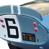 Cobra Daytona Revell - Détails de la face arrière
