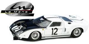 Ford GT40 n° 12 Le Mans Miniatures Le Mans 1964