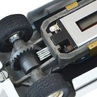 Ford GT40 Cox - Le chassis en magnesium et moteur