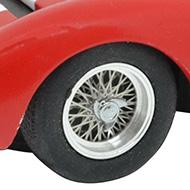 Maserati 151/3 A2M - C167 - Détail des roues à rayons