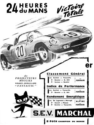 Victoire au Mans 1964