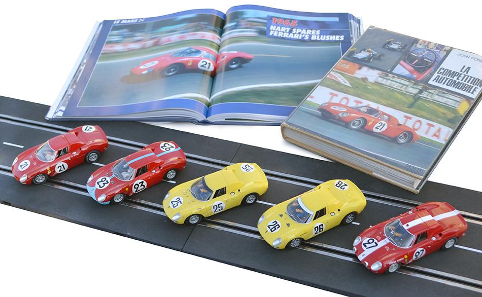 Les cinq Ferrari 250 LM des 24 heures du Mans 1965 par Fly