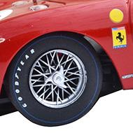 Ferrari 250 LM Fly F053106 -Détail des roues